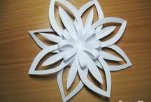Paper Christmas crafts