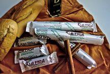 Turrolate de Galenda / Turrón de Chocolate Almendras y Cacahuete
