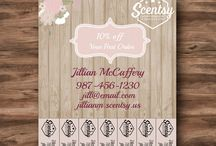 Independent Consultant Marketing & Design / Scentsy, Rodan + Fields, Thirty One, DoTerra, Pampered Chef, Avon Consultant ideas for business cards, flyers, postcards and marketing and design ideas.