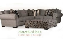 Stain Resistant Sofas, Chairs, Loveseats, Sectionals / Stain resistant and kid resistant, all of these styles and pieces use Revolution Performance Fabric to create each piece from traditional to modern styling.