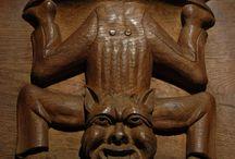 Wood carvings / kedvenc / wood stallum decoration carvings/faragványok