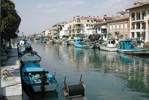 Grado - Italy / The town of Grado , Northern Italy