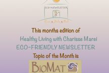 Monthly Newsletters / Healthy Living with Charisse Marei Eco-Friendly Newsletters are full of information to help guide, empower & inspire you on your journey to a green and healthy lifestyle.