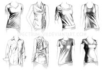clothes drawing
