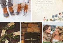 WINTER WEDDING / Abbie's Christmas wedding December 2014