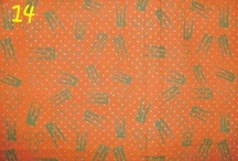 Batik cap 2 warna (batik print 2 colours) / kain batik ini dibuat dengan cara cap dan menggunakan 2 warna dominan
