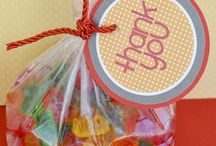 Party ideas and favors