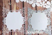 Craft Dies - Embellishments / Сraft dies for scrapbooking themed embellishments.