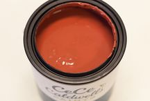 SEDONA RED / NON-TOXIC | NO VOC'S | NO SOLVENTS… NATURAL CHALK + CLAY PAINT FOR FURNITURE AND HOME DECOR #cececaldwellspaints #diy #chalkandclaypaint  / by CeCe Caldwell