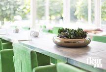 GLAZE / Sowohl für den Innen- als auch Außenbereich sind die edlen, in Handarbeit getöpferten Pflanzgefäße und Schalen der GLAZE-Serie geeignet. ▪ The noble planters and bowls of GLAZE series are pottery made by hand and suitable for indoors and outdoors.