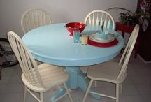 Painted tables / by Meghan Sullivan