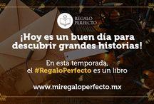 #RegaloPerfecto 2015 / ¡Porque el #RegaloPerfecto SIEMPRE es un libro, regresa www.miregaloperfecto.mx!  ¡Ingresa y encuentra las mejores recomendaciones para esta temporada!