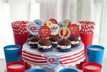 SUPER HERO PARTY IDEAS / SUPER DAD BECAUSE HIS OUR SUPER HERO. #Party #Ideas #SuperHero #Dad