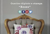 """Mentelocale CREATIVE COLLECTION: ROSES / Collezione inspirata alle rose stilizzate.Pensate, rielaborate,e disegnate da mentelocale creazioni tessili. Un must, un idea nata nel 2012, sempre attuale, dove l'accurata attenzione dei tessuti,esclusivamente """"Made in Italy"""" e la ricerca della forma vince su tutto. La collezione Roses è pensata per una dimora contemporanea, e originale."""