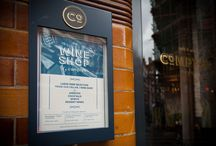 Comptoir, Cafe & Wine Mayfair / In Spring 2017, Comptoir Cafe & Wine in Mayfair opened its doors. The Comptoir Cafe & Wine concept has been created by Master Sommelier Xavier Rousset and with interior & Branding design by B3 Designers