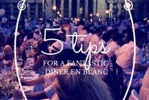 Diner En Blanc Ideas/Recipes