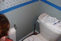 bathroom ideas / by Traci Kreiser