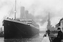 Titanic - 1912 / I'm proud to say I was fascinated with the story of the Titanic... long before it was the 'cool' thing to do.