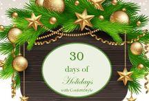 30 Days of Holidays--2014