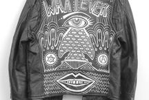 Custom/Painted Leather Jackets