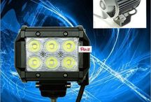 4INCH 18W Headlight Square Spot LED