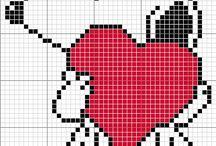 Snoopy coração!