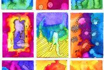 Školka - Art - hra s barvou ...
