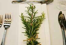 Herbs Wedding Decor / by Renata Veiga