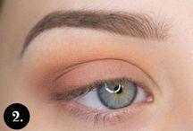 ako si namaľovať oči
