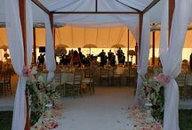Tenting and Creative Covers / wedding tents and shade structures for special events  / by Corina Beczner/ Vibrant Events