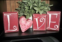 Valentine's Day decorations / by Cassie Miller