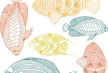 "Pattern Love -Fish / Our ""Under the Sea"" friends"
