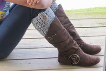 Boot Cuffs (Crochet)