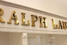 Ralph lauren letters