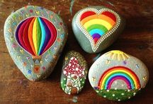 For the Kiddos- Painted Rocks