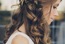 Acessórios de cabelo para noivas.