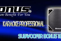 Subwoofer Bonus 18 / Loa subwoofer Bonus 18 cho âm bass mạnh mẽ, sâu và chắc, thích hợp với nhiều thể loại lẫn phong cách chơi nhạc của khách hàng.