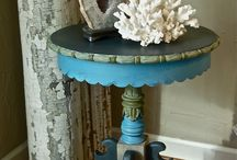Painting and decorating furniture / Painted furniture; recycling; up cycling; re-using old furniture