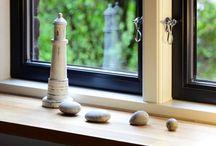 Fenster & Türen / Wertbeständige Fenster & Türen Schöne Holzfenster mit schmalen Profilen und dänischem Flair