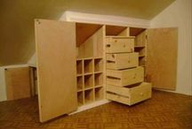 Cupboards / storage
