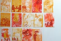 Gelli Prints / by Cathy Childs Morrison