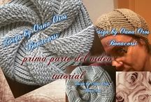 Crochet and Knitting hats and Mittens