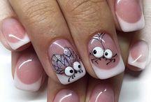 Блеск дизайна ногтей