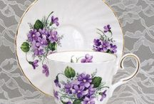 Vintage Chinaware / A selection of vintage cups and saucers, teapots, plates and jugs.