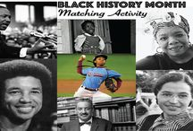Black History Month / Black History Month reflects on and honors the African-American experience from the times of slavery through the present. In this board you can find art, activity and inspiration for the little ones