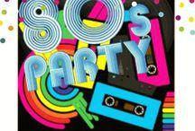 80's Birthday Party