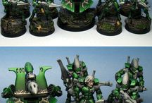 Miniatures and Painting / Inspirations for Warhammer 40.000