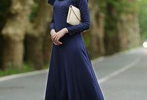 Dress muslim hijab