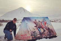 FieldCandy x Iron Maiden / Presenting the most rock & roll tent ever made. FieldCandy have collaborated with iconic heavy metal band Iron Maiden to create a Limited Edition tent featuring their 'The Trooper' artwork and 'mascot' Eddie the Head.
