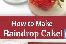 Rain Drop Cakes ☁